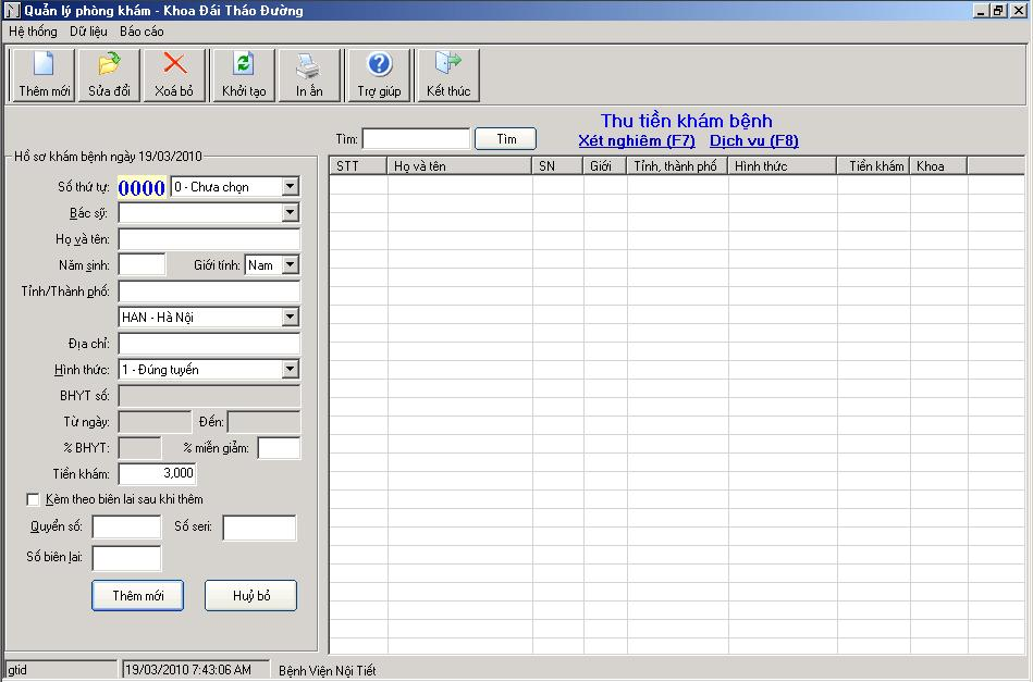 quanlyphongkham Phần mềm quản lý bệnh viện